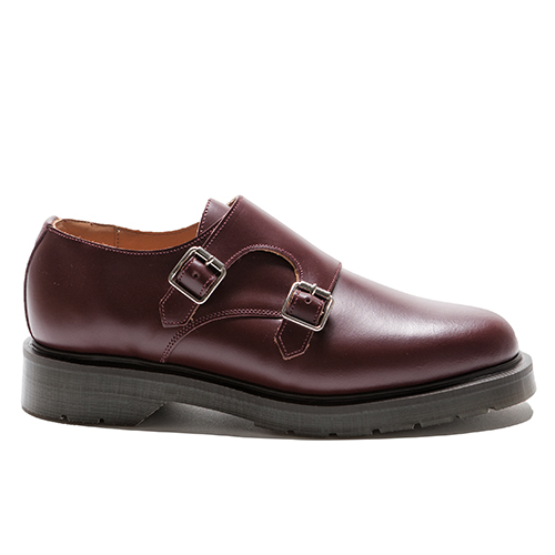 Double Buckle Monk Shoes(OXB)