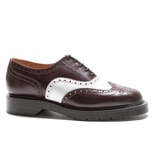 5 Eye English/wing-cap Brogue Oxford Shoes(NUT)