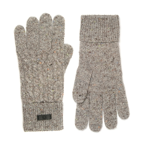 [Authentic]Flecked Cable Gloves(837)