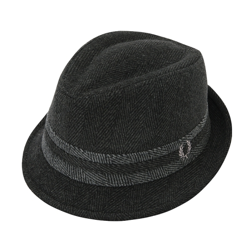 [Authentic] Herringbone Trilby(566)
