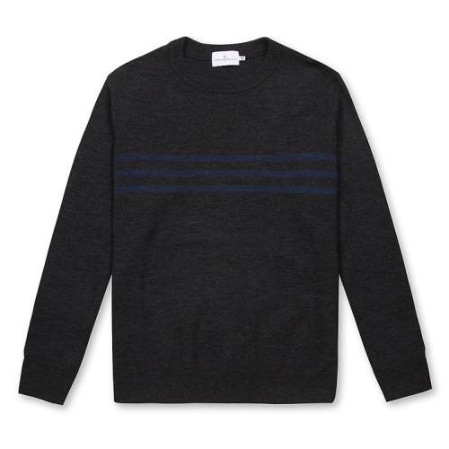 Merino Wool Pull(GRY)