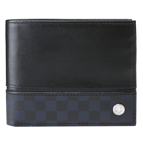 [Authentic] Checkerboard Print Billfold Wallet(102)