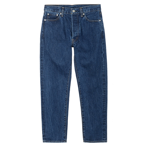 5Pocket Ankle Denim Used (BLU)
