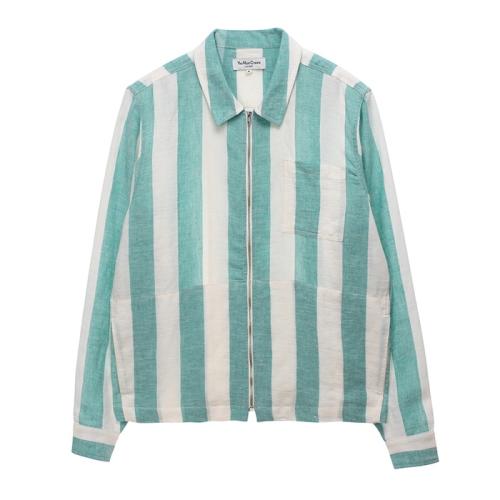 Bowie Zip Shirt(GRN)