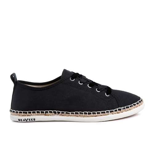 Laurel Canyon Espadrille(BLK)