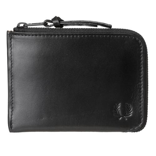 [Authentic]Contrast Internal Lth Zip Around Wallet (102)