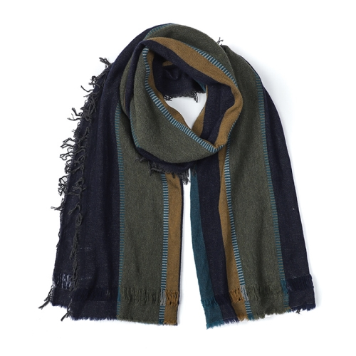 Blanket Scarf(NVY)