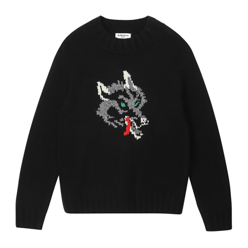 Wolf Turtle Neck(BLK)