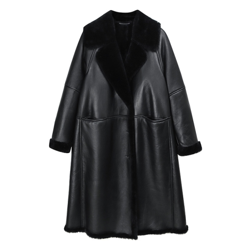 Sheepskin Coat(BLK)