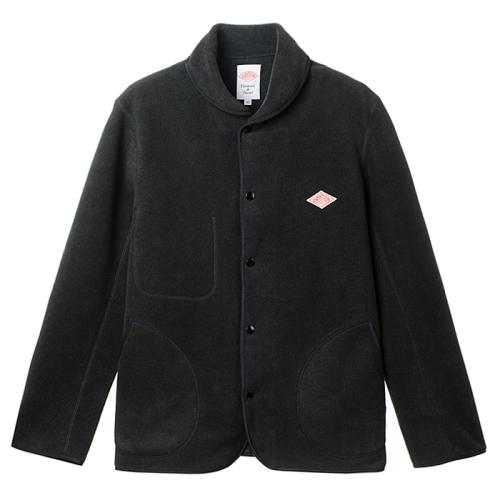 Round Collar Fleece(BLK)