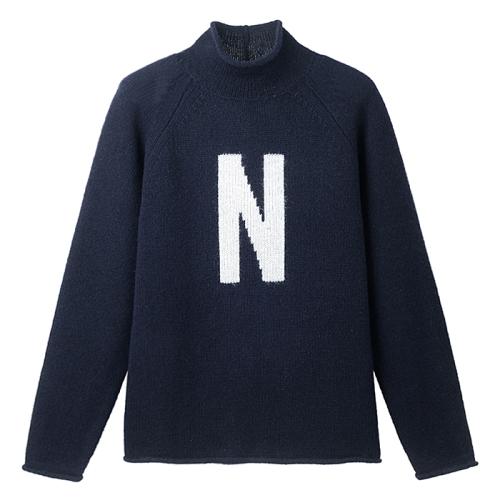 "Thore ""N"" Intarsia(NVY)"