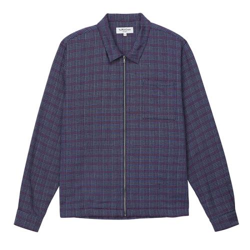 Bowie Zip Shirt(BLU)