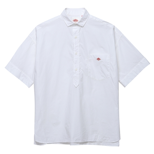 S/S Pull Over Work Shirts (WHT)