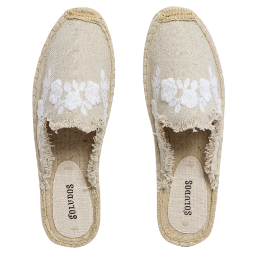 Frayed Floral Mule (270)