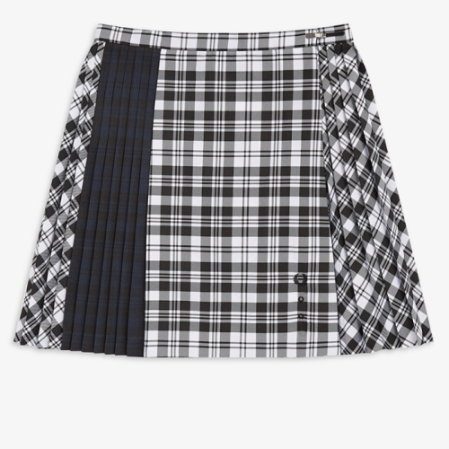 [Le Kilt] Mixed Tartan Tennis Skirt(102)