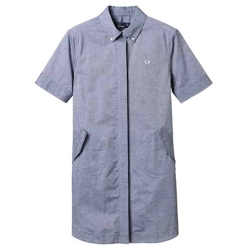 [Authentic] Parka Detail Shirt Dress(D13)