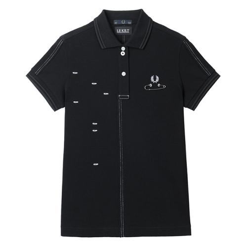 [Le Kilt]Cut & Sew Pique Shirt(102)