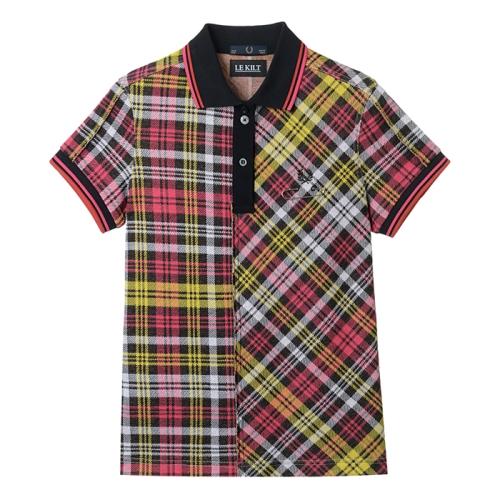 [Le Kilt]Tartan Pique Shirt(G77)