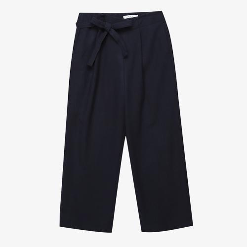 Strap Wool Pants (NVY)