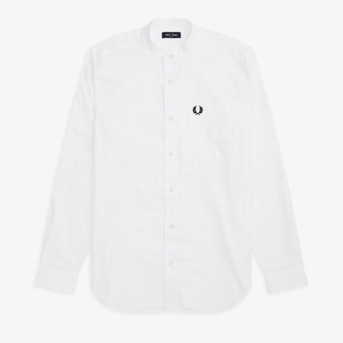 [Authentic] Grandad Collar Shirt(100)