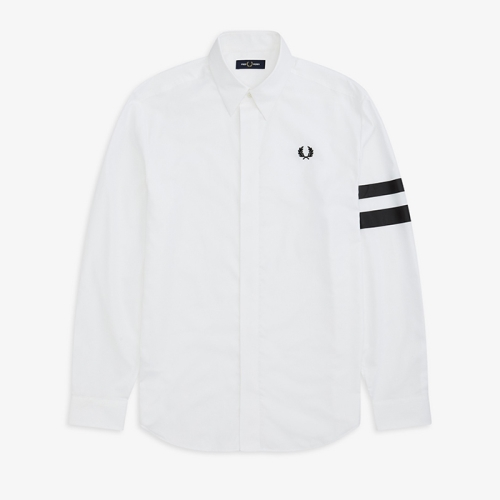 [Authentic] Tipped Sleeve Shirt(100)