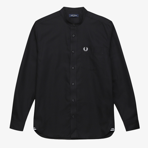 [Authentic] Grandad Collar Shirt(102)