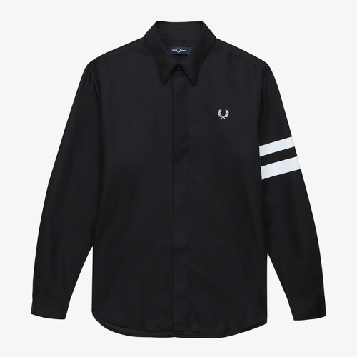 [Authentic] Tipped Sleeve Shirt(102)