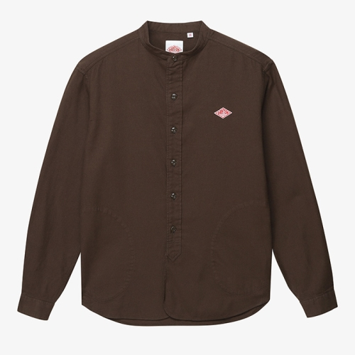 Band Collar Pull Over Shirts (BRW)
