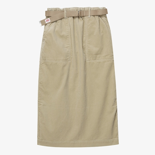 Work Skirt Corduroy (BEG)