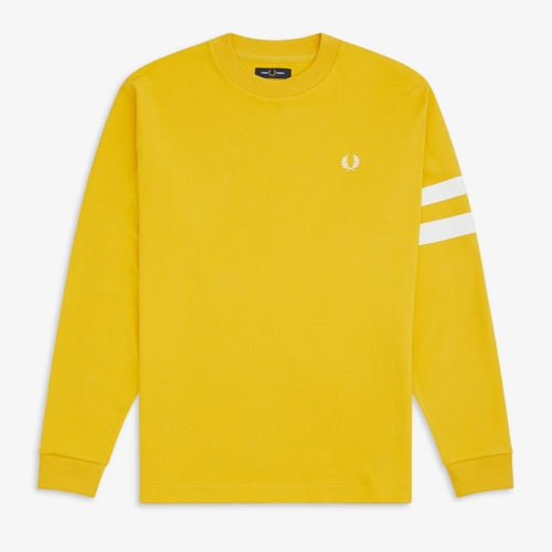 [Authentic] Tipped Sleeve L/S T-Shirts(I68)