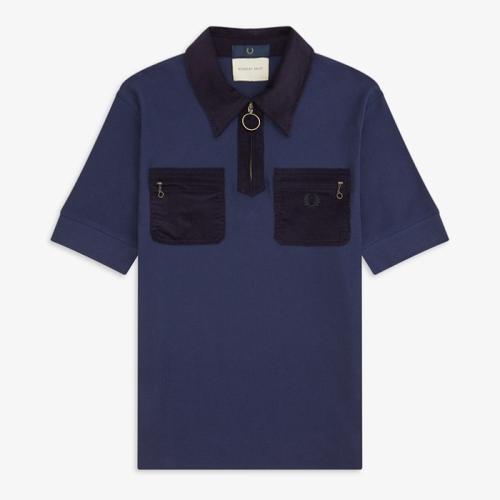[Nicholas Daley] ND Corduroy Pocket Pique Shirt(D28)
