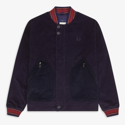 [Nicholas Daley] ND Corduroy Bomber Jacket(266)