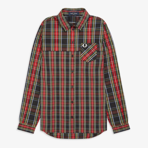 [Authentic] Womens Tartan Shirt(102)