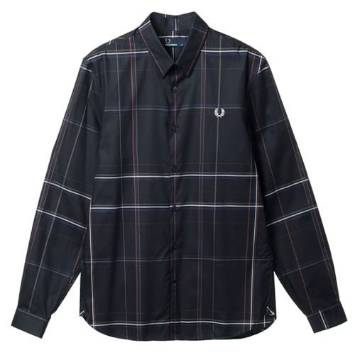 [Authentic]Enlarged Check Shirt(102)