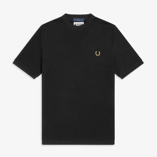 [Miles Kane] Turtleneck Pique Shirt(102)