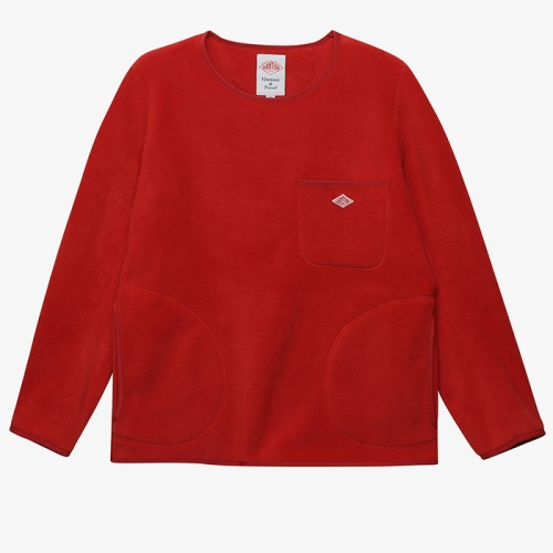 Fleece Pull Over (RED)