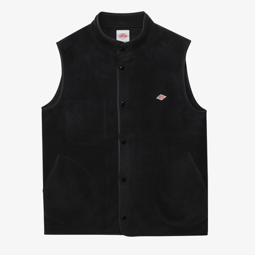 Fleece Vest (BLK)