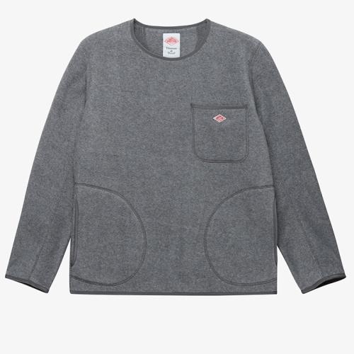Fleece Pull Over (GRY)