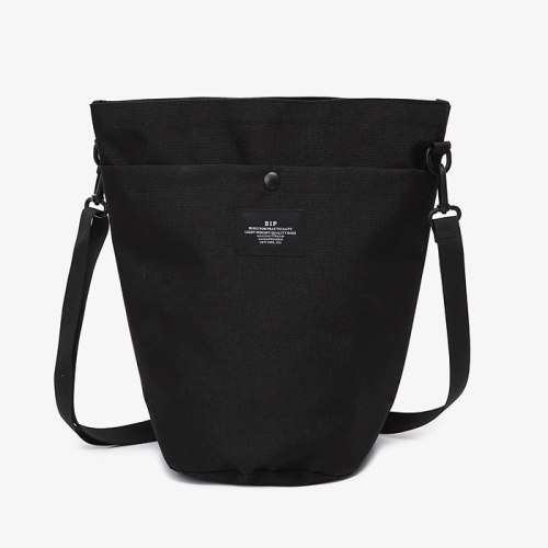 Circle Shoulder Tote (BLK)