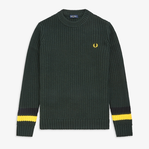 [Authentic] Bold Tipped Crew Neck Sweater(F40)