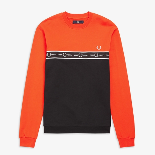 [Authentic] Taped Chest Sweatshirt(I66)
