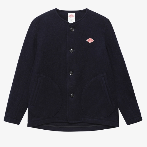 Round Neck Jacket (NVY)