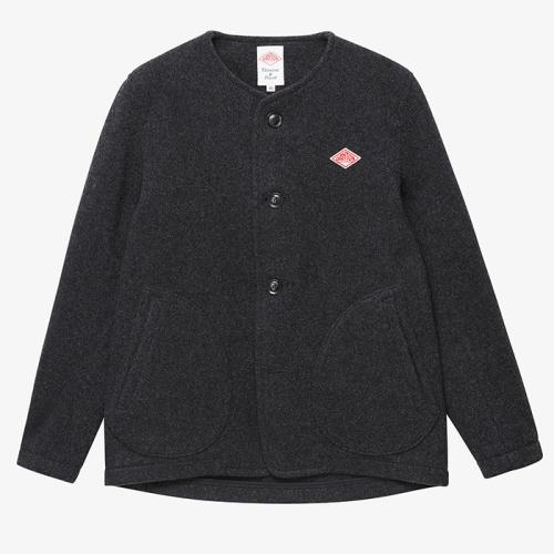 Round Neck Jacket (CHC)