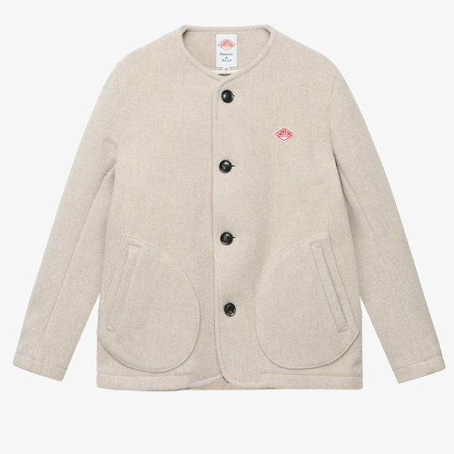 Round Neck Jacket (BEG)