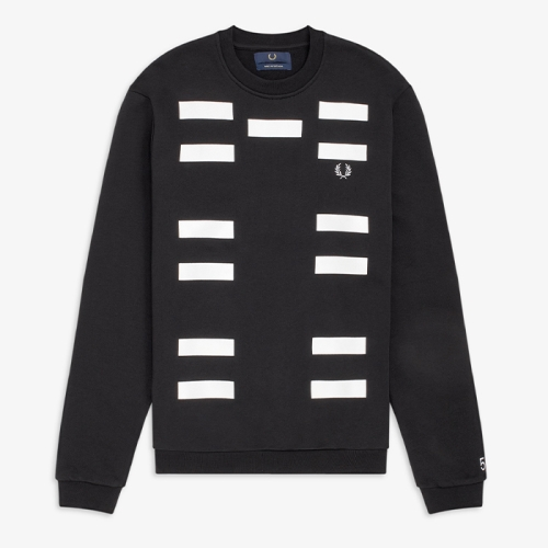 [Made Thought] Block Graphic Sweatshirt (Blk)(102)