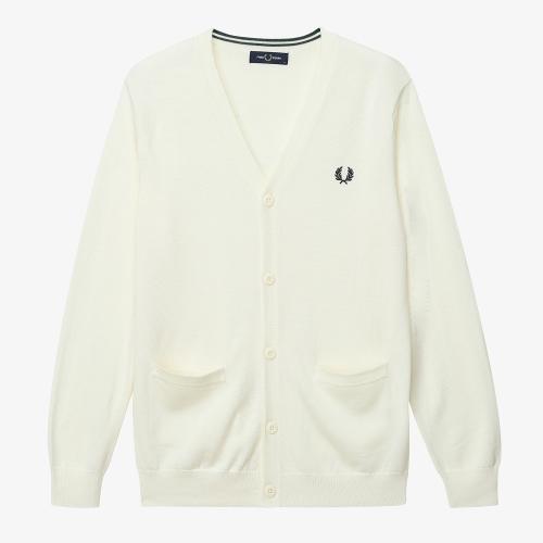 [Japan Collection] Tipped Merino Cardigan(J09)