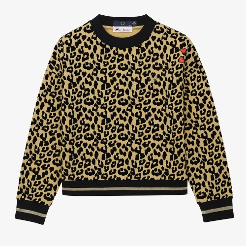 [Amy Winehouse] Amy Leopard Print Sweatshirt(926)