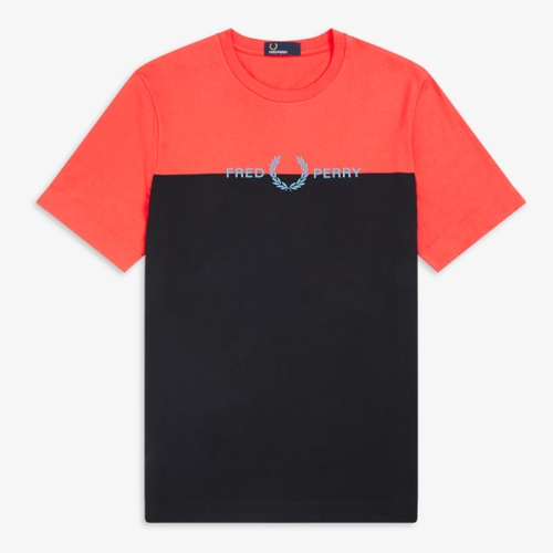 [Authentic] Colour Graphic T-Shirt(649)