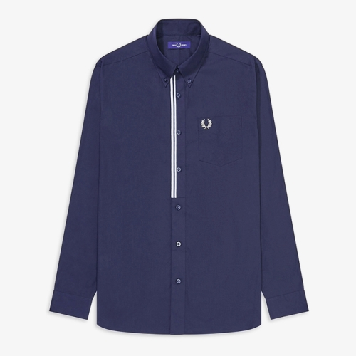 [Authentic] Taped Placket Shirt(266)