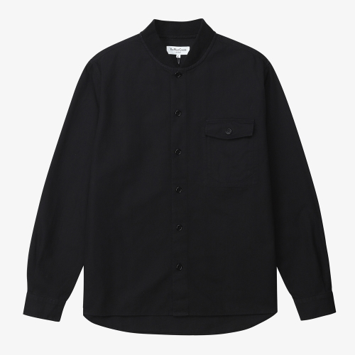 Delinquents Rib Collar Shirt (BLK)